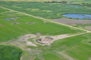 Chronic salt spills destroy soil productivity and a farmers estate .